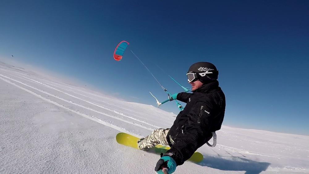 Dvoudenní snowkiting kurz