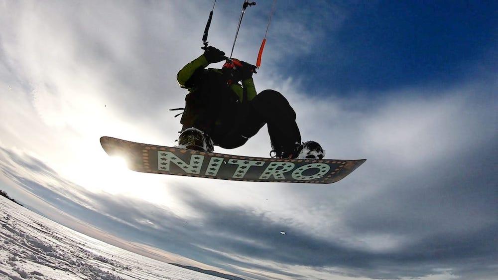 Snowkiting a nebezpečí