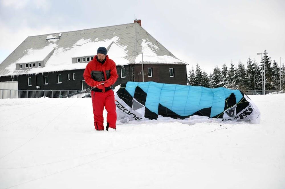 Co budeš pro snowkiting potřebovat?