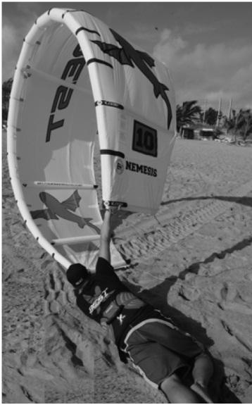 Kite & snowkite manuál - sebezáchranná technika