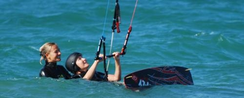 Snowkiting - ideální příprava pro kiteboarding na vodě